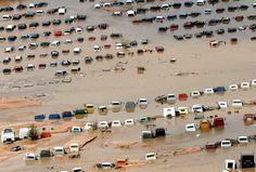 Le 16 septembre, le Colorado est sous les eaux comme ici dans la ville de Greeley.