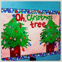 classroom bulletin board ideas | Oh Christmas Tree | MyClassroomIdeas.com