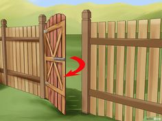 How to Build a Wooden Gate: 13 Steps (with Pictures) - wikiHow