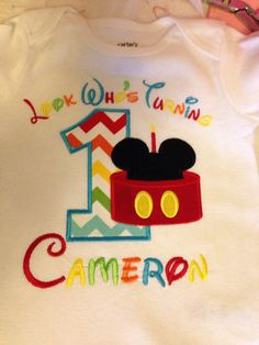 Boys first birthday mickey mouse clubhouse by LittleChickiesClips