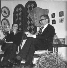Janus -  Party in casa con Andy Warhol. Ferrara,1974.