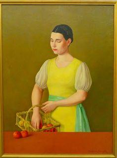 Antonio Donghi. Margherita. 1936
