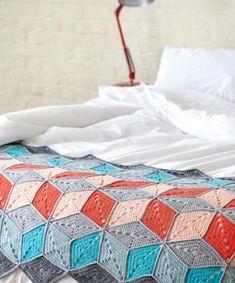 Behind the scenes: my Big Top blanket from Crochet Now magazine.