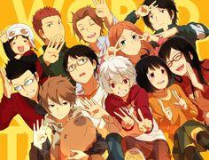 World Trigger - Tamakoma Gumball, Manga Anime, Anime Art, Shin Megami Tensei Persona, Slayer Anime, Manga Pictures, Manga Games, Tigger, Animation