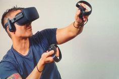 Oculus Rift * Virtual reality - Oculus' tracked controllers are not yet available
