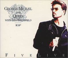 """For Sale - George Michael Five Live E.P. - Part 1 UK  CD single (CD5 / 5"""") - See this and 250,000 other rare & vintage vinyl records, singles, LPs & CDs at http://eil.com"""