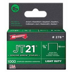 Arrow Fastener 276 Genuine JT21T27 38Inch Staples 1000Pack *** Details can be found by clicking on the image.