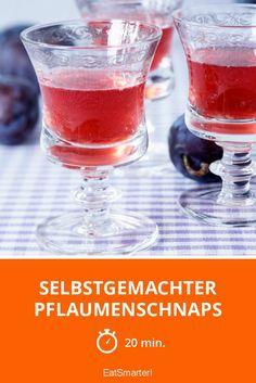 Selbstgemachter Pflaumenschnaps - smarter - Zeit: 20 Min. | eatsmarter.de