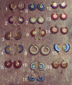 Organize & Storage: 17 Brilliant DIY Laundry Room Organization Ideas And Tips Macrame Necklace, Macrame Jewelry, Beaded Earrings, Etsy Macrame, Brass Jewelry, Tribal Jewelry, Bijoux Fil Aluminium, Card Weaving, Micro Macramé