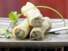 Rezept: Asia-Cannelloni mit Lachs-Garnelen-Füllung
