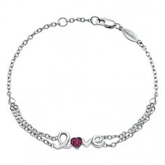 #Love Sterling Silver Bracelet