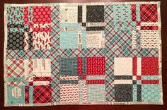 Fun Run Table Runner by ThePlaidPiecemaker on Etsy