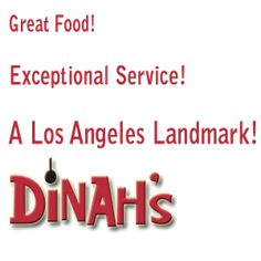 Dinahs Family Restaurant - LA - Chicken & Pancakes!
