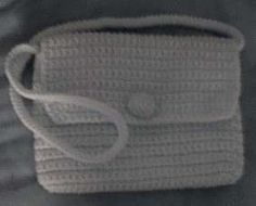 Easy Crocheted Purse: free pattern