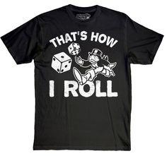 Monopoly shirt haha