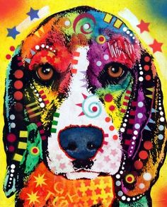 Beagle Painting-Dean Russo