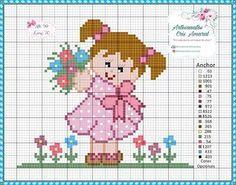 Cross Stitch For Kids, Cross Stitch Boards, Mini Cross Stitch, Cross Stitch Needles, Cross Stitch Flowers, Cross Stitching, Cross Stitch Embroidery, Embroidery Patterns, Cross Stitch Patterns