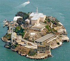 Alcatraz Island, CA - creepy! Not beautiful, but historically worth visiting.