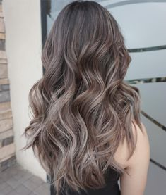Smokey beige Love the dimension in this hair Color done by me and Joey @huynhchishairstudio and @erickxh