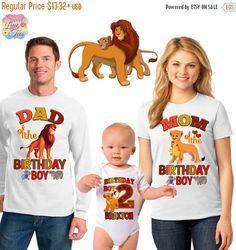 15% OFF Lion king birthday shirt/the Lion king por sweetlittletees