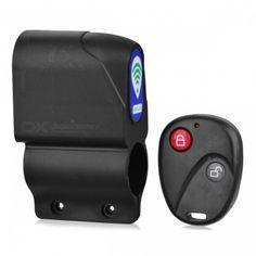 Electric Bike Bicycle Anti-theft Security Alarm w/ RC - Black Security Alarm, Bicycle Accessories, Ergonomic Mouse, Electric, Bike, Black, Bicycle Kick, Bicycle, Black People