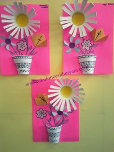 Plastic and paper cup craft ideas - Paper Cup Crafts, Skin Paint, Crafts For Kids, Arts And Crafts, Classroom Crafts, Food Coloring, Flower Crafts, Art School, Boy Or Girl