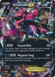 Krookodile EX - Pokemon X&Y Ultra Rare Promo Card Review