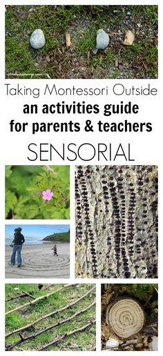 Montessori Activities for the SENSORIAL OUTDOOR CLASSROOM
