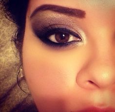 Smokey Eye at Night by Lakeside. Browse our real-girl gallery #TheBeautyBoard on Sephora.com & upload your own look for the chance to be featured here! #Sephora #MOTD