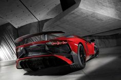 2016 Lamborghini Aventador LP750-4 SVThe 2016 Lamborghini Aventador LP750-4 SV debuted at the 2015 Geneva Motor Show. At its unveiling it was hai