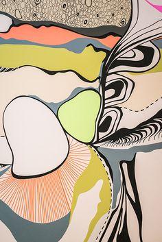 Graphic Surface   Wall Decor Interior Design Inspiration @ Body Enineering Tigger, Design, Inspiration, Disney Characters, Magic, Drawings, Abstract Artwork, Art, Design Inspiration