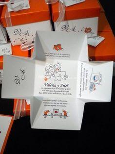 Cajitas de Invitación que reemplazan la clásica tarjeta de invitación a tu casamiento. Inceríbles!!!   Foto 10