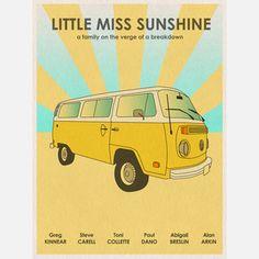 Little Miss Sunshine - Fab.com | Movie-Inspired Graphic Prints
