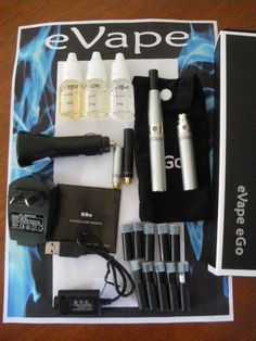 Electronic cigarettes should have fewer toxic effects than traditional cigarettes http://igg.me/at/EcoLite