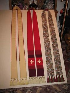 Making clerical stoles