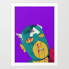 Soc! Art Print by Boneface - $22.88