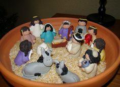 fimo nativity