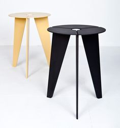 'Drilling' stool by Christian Kim