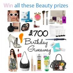 Giveaways : win all these #Fashion and #Beauty prizes : win all these Fashion and Beauty prizes  Take a look at the prizes:  - Becksöndergaard 'O-Maja' Bag in Black Shine from The Dressing Room – £149  A selection of beauty