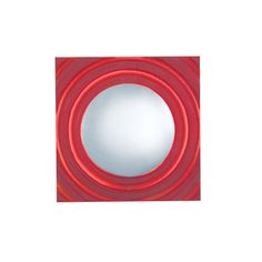 JESCO Lighting 1-Light Low-Voltage Red Companion Art Deco Wall Sconce