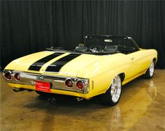 Sold* at Orange County 2012 - Lot #37.1 1972 CHEVROLET CHEVELLE SS CONVERTIBLE