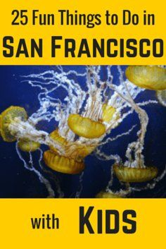 25 Fun Things to Do with Kids in San Francisco: http://www.sftourismtips.com/san-francisco-with-kids.html