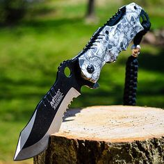 8-M-TECH-SPRING-ASSISTED-OPEN-Blade-Tactical-FOLDING-POCKET-KNIFE-Bowie-Switch