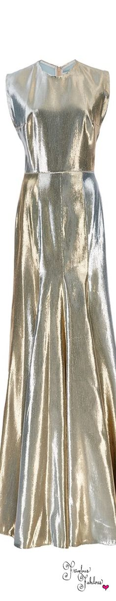 Very 1930s! --> Frivolous Fabulous - Sandra Mansour Silver Gown Spring Summer 2016