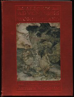 Alice's Adventures in Wonderland. Year: 1907. Country: Illustrations by Arthur Rackham.