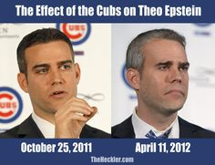 Theo Epstein is aging much faster than other GM's...