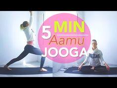 5 Min Aamu Jooga - YouTube