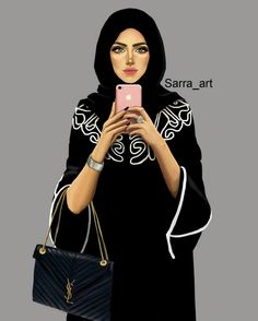 Hijab DrawingHijab girl Hijab Drawing Source : Hijab girl by tgkceolu Girly M, Girly Stuff, Sarra Art, Beautiful Hijab Girl, Hijab Drawing, Anime Muslim, Hijab Cartoon, Islamic Girl, Girly Drawings