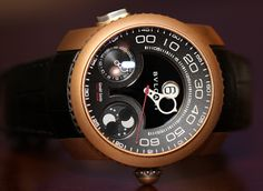 Bulgari GG Gefica Hunter GMT Moon Phase Watch Review