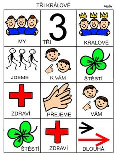 Pro Šíšu: My tri kralove Crafts For Kids, Education, Cards, Fictional Characters, Co Dělat, Advent, Crafts For Children, Kids Arts And Crafts, Maps